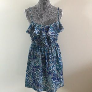 City Triangle women's summer blue dress size M